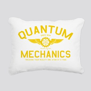QUANTUM_MECHANICS_cpy Rectangular Canvas Pillow