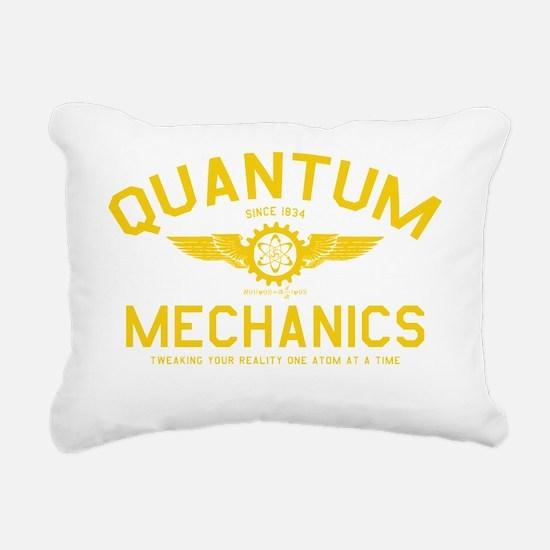 QUANTUM_MECHANICS_cpy Rectangular Canvas Pillow