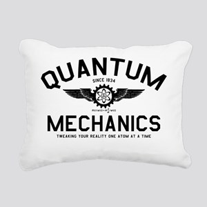 QUANTUM_MECHANICS_cpb Rectangular Canvas Pillow