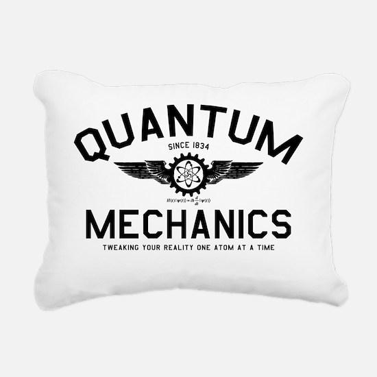 QUANTUM_MECHANICS_cpb Rectangular Canvas Pillow