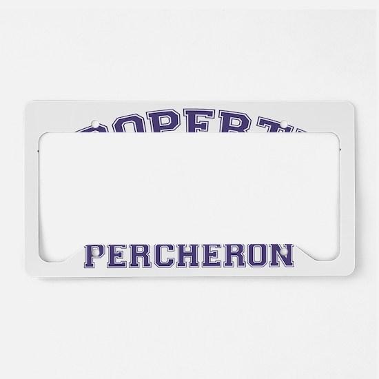percheronproperty License Plate Holder