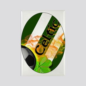 celtic-fb-oval-ornament Rectangle Magnet