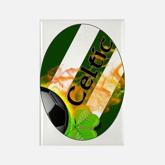 celtic-fb-oval-ornament Rectangle Magnet