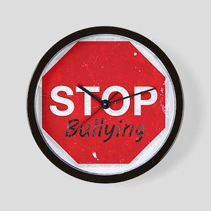 Stop_Bullying Wall Clock