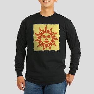 Orange Sunshine Tab Long Sleeve T-Shirt