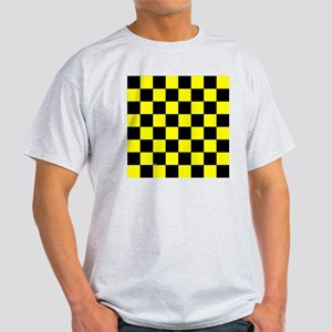 tileboxyelocheckerboard Light T-Shirt