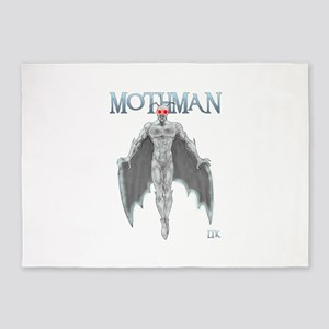 Mothman 5'x7'Area Rug