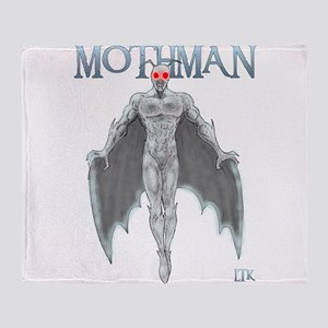 Mothman Throw Blanket