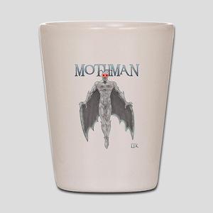 Mothman Shot Glass