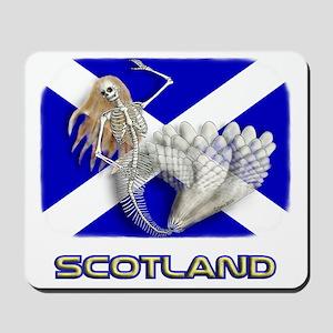 Mermaid Scottish Flag 2 Mousepad