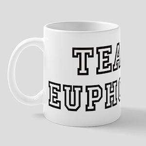 EUPHORIC is my lucky charm Mug