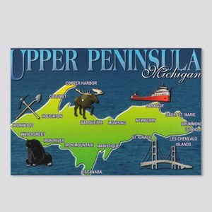 U.P. Vintage Postcards (Package of 8)