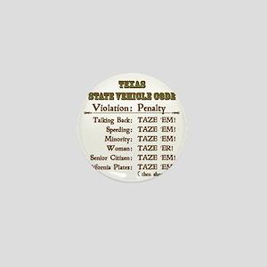 TexasVehicleCode_10x10 Mini Button