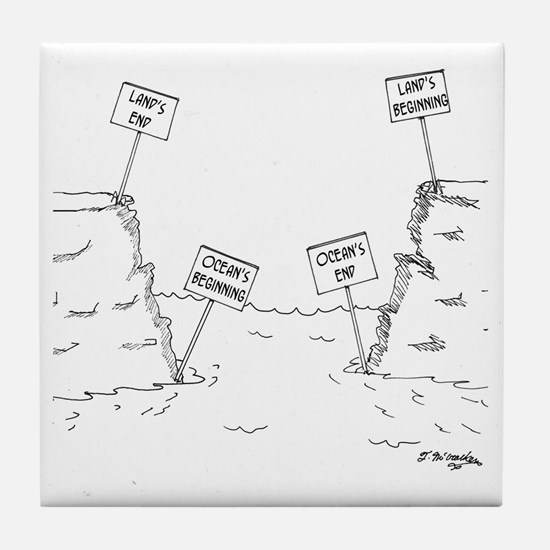 1184_ocean_cartoon Tile Coaster