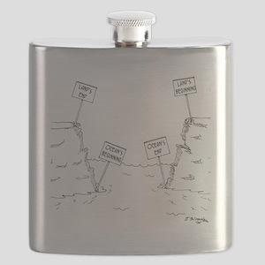 1184_ocean_cartoon Flask