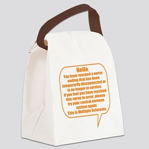 10x10 Hello Canvas Lunch Bag
