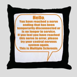 10x10 Hello Throw Pillow