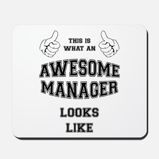 AWESOME MANAGER Mousepad