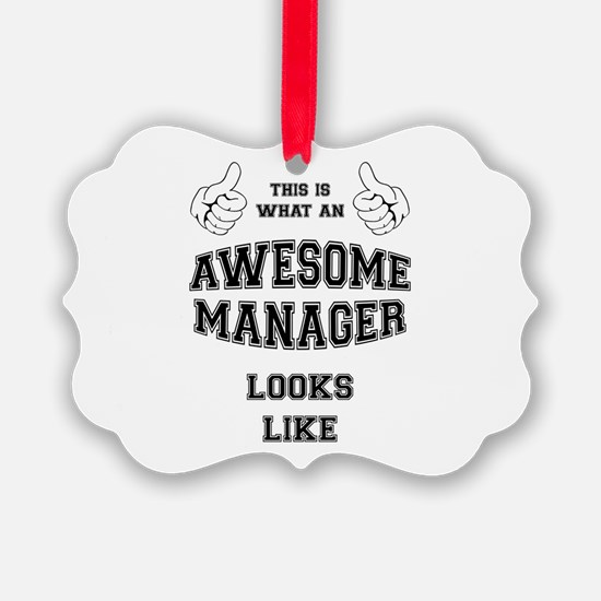 AWESOME MANAGER Ornament
