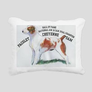 National Dual Champion Rectangular Canvas Pillow