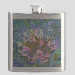 Pillow Monet Detail Flask