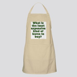 What is the least expensive horse Apron