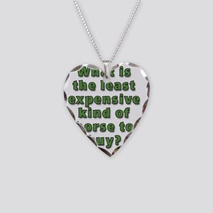 What is the least expensive h Necklace Heart Charm