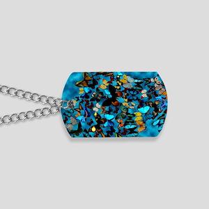 Butterflies Blue Dog Tags