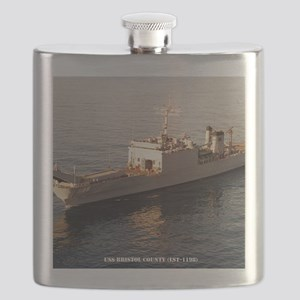 bristolco framed panel print Flask