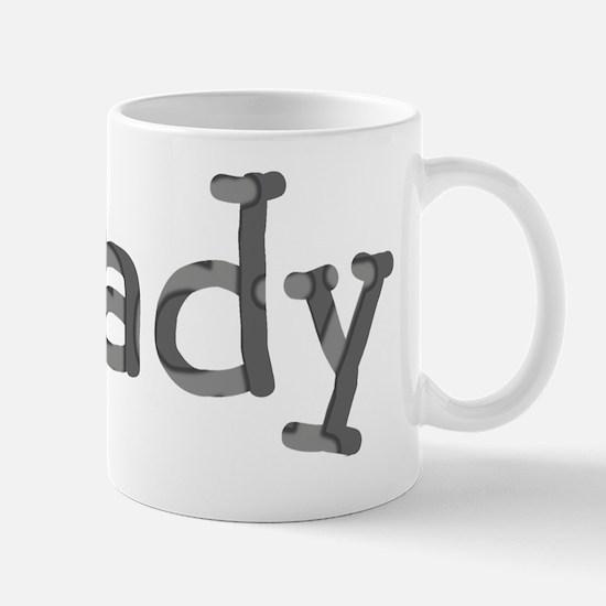Funny Shady Sarcasm Cool Font Mug
