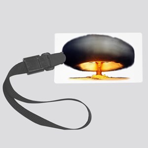 Nuclear Explosion Large Luggage Tag