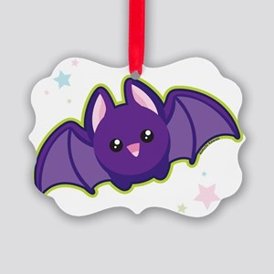 bat Picture Ornament