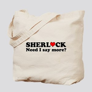 Loving Sherlock Tote Bag