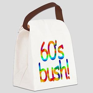 60s bush Canvas Lunch Bag