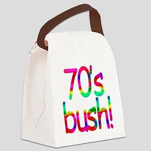 70s Bush Canvas Lunch Bag