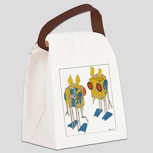meccano martians Canvas Lunch Bag