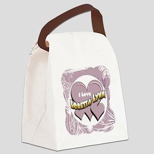 LorettaLynn 12x12 Canvas Lunch Bag