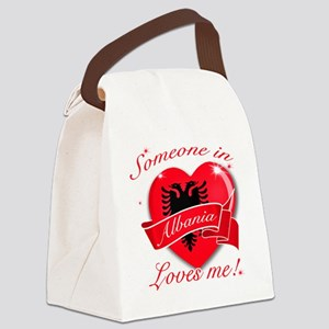 Albania Canvas Lunch Bag