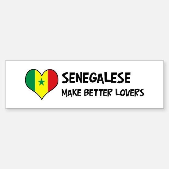 Senegal - better lovers Bumper Bumper Bumper Sticker