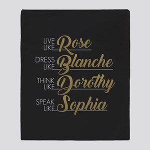 Live, Dress, Think, Speak like The Golden Girls Th