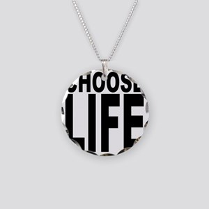 chooseife Necklace Circle Charm