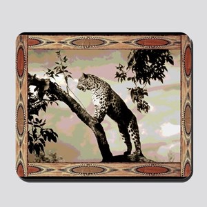 african leopard 1 Mousepad