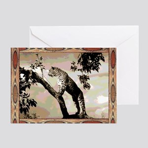 african leopard 1 Greeting Card