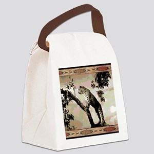 african leopard 1 Canvas Lunch Bag