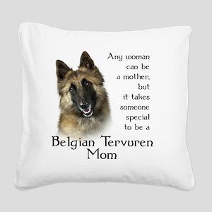 Belgian Tervuren Square Canvas Pillow