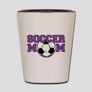 Soccer Mom In Purple - Shot Glass