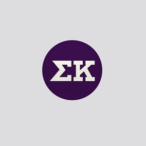 Sigma Kappa Letters Mini Button