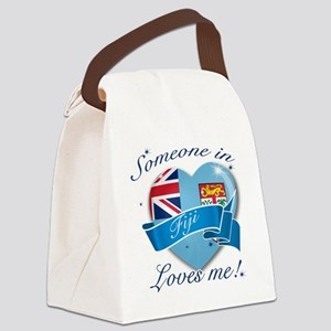 Fiji Canvas Lunch Bag