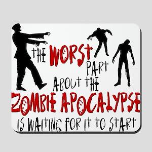 worst zombie Mousepad