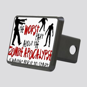 worst zombie Rectangular Hitch Cover